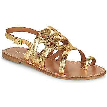 Pantofi Femei Sandale  Minelli NOUNNA Auriu