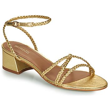 Pantofi Femei Sandale  Minelli HARIETTE Auriu