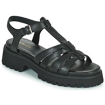 Pantofi Femei Sandale  Minelli HELLHA Negru