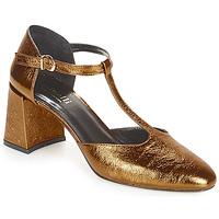 Pantofi Femei Pantofi cu toc Minelli GAELANE Bronz