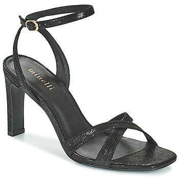 Pantofi Femei Sandale  Minelli THIPHANNIE Negru