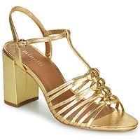 Pantofi Femei Sandale  Minelli THERENA Auriu