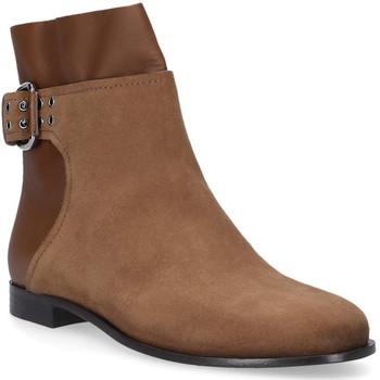 Pantofi Femei Ghete Jimmy Choo MAJOR FLAT Marrone chiaro