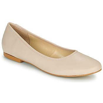Pantofi Femei Balerin și Balerini cu curea So Size JARALUBE Bej