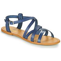Pantofi Femei Sandale  So Size IDITRON Albastru