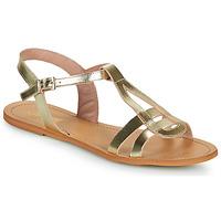 Pantofi Femei Sandale  So Size DURAN Auriu