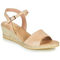 Pantofi Femei Sandale  So Size OTTECA Bej