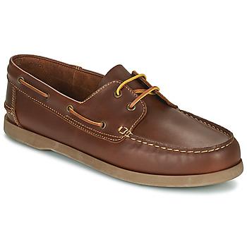 Pantofi Bărbați Pantofi barcă So Size MALIK Tan