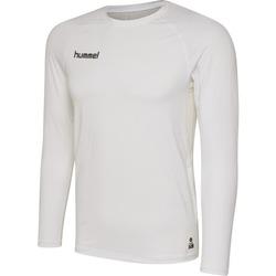 Îmbracaminte Bărbați Tricouri cu mânecă lungă  Hummel Maillot  manches longues First Performance HML blanc