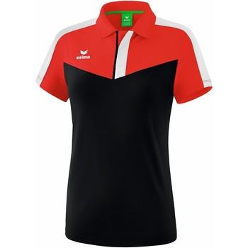 Îmbracaminte Femei Tricou Polo mânecă scurtă Erima Polo femme  Squad rouge/noir/blanc