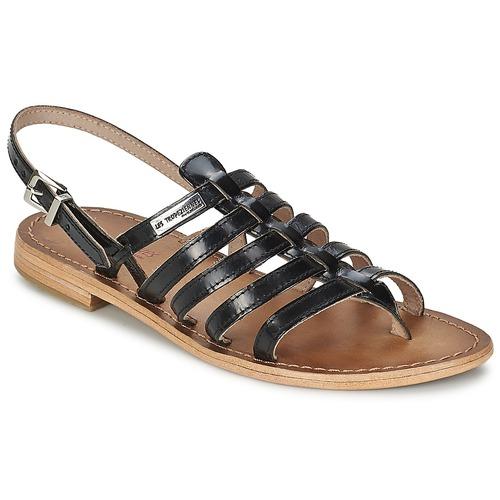 Pantofi Femei Sandale  Les Tropéziennes par M Belarbi HERISSON Negru