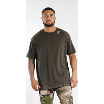 Îmbracaminte Bărbați Tricouri mânecă scurtă Sixth June T-shirt  logo épaule kaki