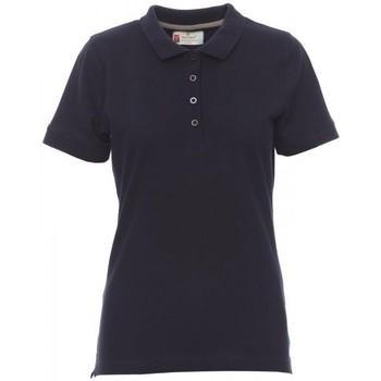Îmbracaminte Femei Tricou Polo mânecă scurtă Payper Wear Polo femme Payper Venice bleu marine