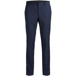 Îmbracaminte Bărbați Pantaloni de costum Jack & Jones Pantalon  Solaris bleu foncé