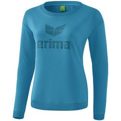 Îmbracaminte Femei Tricouri cu mânecă lungă  Erima Sweat-shirt femme  Essential bleu clair/bleu