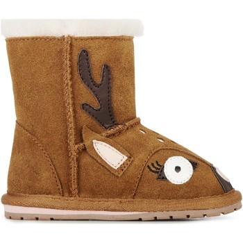 Pantofi Copii Cizme de zapadă EMU Deer Walker Chestnut