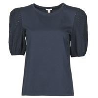 Îmbracaminte Femei Tricouri mânecă scurtă Esprit T-SHIRTS Negru