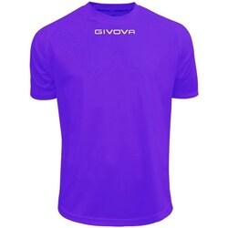 Îmbracaminte Bărbați Tricouri mânecă scurtă Givova One Violete