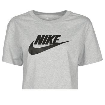 Îmbracaminte Femei Tricouri mânecă scurtă Nike NSTEE ESSNTL CRP ICN FTR Gri / Negru