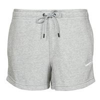 Îmbracaminte Femei Pantaloni scurti și Bermuda Nike NSESSNTL FLC HR SHORT FT Gri / Alb
