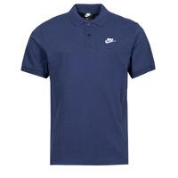 Îmbracaminte Bărbați Tricou Polo mânecă scurtă Nike NSSPE POLO MATCHUP PQ Albastru / Alb