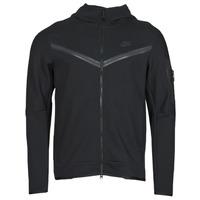 Îmbracaminte Bărbați Bluze îmbrăcăminte sport  Nike NSTCH FLC HOODIE FZ WR Negru