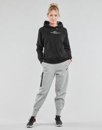 Îmbracaminte Femei Pantaloni de trening Nike NSTCH FLC ESSNTL HR PNT Gri / Negru