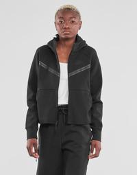 Îmbracaminte Femei Bluze îmbrăcăminte sport  Nike NSTCH FLC WR ESSNTL FZ HDY Negru