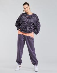 Îmbracaminte Femei Pantaloni de trening Nike NSICN CLSH JOGGER MIX HR Violet / Roz