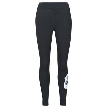Îmbracaminte Femei Colanti Nike NSESSNTL GX HR LGGNG FTRA Negru / Alb