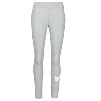 Îmbracaminte Femei Colanti Nike NSESSNTL GX MR LGGNG SWSH Gri / Alb