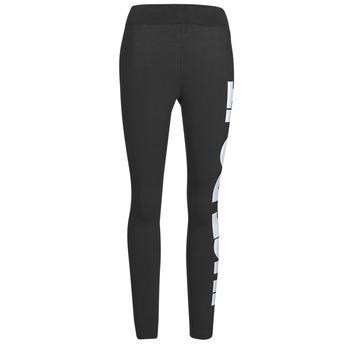 Îmbracaminte Femei Colanti Nike NSESSNTL GX HR LGGNG JDI Negru / Alb