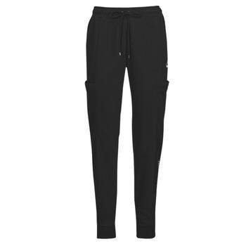 Îmbracaminte Femei Pantaloni de trening Nike NSAIR PANT FLC MR Negru / Alb