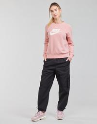 Îmbracaminte Femei Pantaloni de trening Nike NSICN CLASH PANT CANVAS HR Negru / Gri