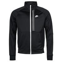 Îmbracaminte Bărbați Bluze îmbrăcăminte sport  Nike NSTE N98 PK JKT TRIBUTE Negru / Alb