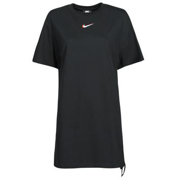 Îmbracaminte Femei Tricouri mânecă scurtă Nike NSESSNTL DRESS PRNT Negru