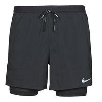 Îmbracaminte Bărbați Pantaloni scurti și Bermuda Nike DF FLX STRD 2IN1 SHRT 5IN Negru