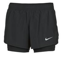 Îmbracaminte Femei Pantaloni scurti și Bermuda Nike 10K 2IN1 SHORT Negru