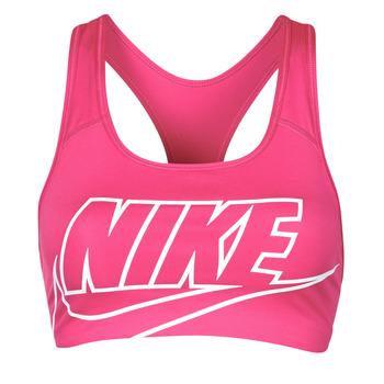 Îmbracaminte Femei Bustiere sport Nike DF SWSH FUTURA GX BRA Roz / Alb