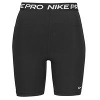 Îmbracaminte Femei Pantaloni scurti și Bermuda Nike NIKE PRO 365 SHORT 7IN HI RISE Negru / Alb