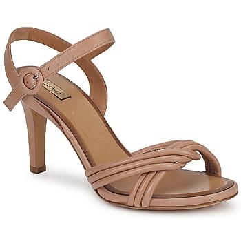 Pantofi Femei Sandale și Sandale cu talpă  joasă Eva Turner VANDONEVO Maro / Glacial