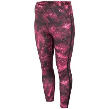 Îmbracaminte Femei Pantaloni  4F SPDF010 Vișiniu