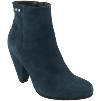 Pantofi Femei Botine She - He  Azul
