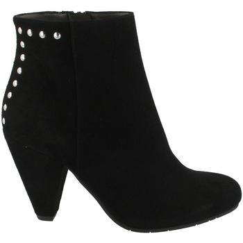 Pantofi Femei Botine She - He  Negro