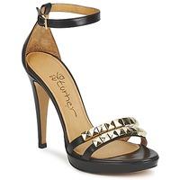 Pantofi Femei Sandale și Sandale cu talpă  joasă Eva Turner VAGIBEGO Negru