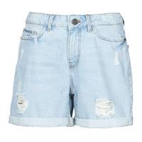 Îmbracaminte Femei Pantaloni scurti și Bermuda Noisy May NMSMILEY Albastru / LuminoasĂ