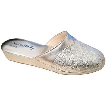Pantofi Femei Papuci de vară Milly MILLY4200arg grigio