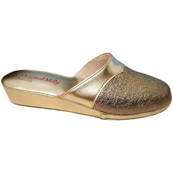 Pantofi Femei Papuci de vară Milly MILLY4200oro grigio