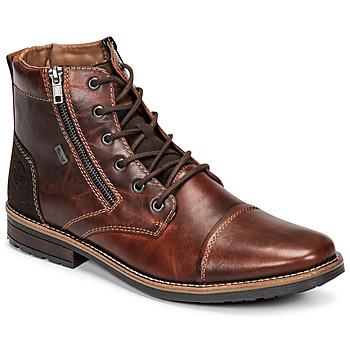 Pantofi Bărbați Ghete Rieker  Maro