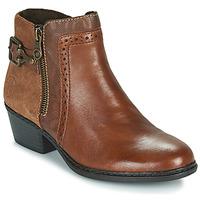 Pantofi Femei Botine Rieker BELLA Maro